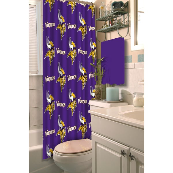Shop NFL Vikings Shower Curtain