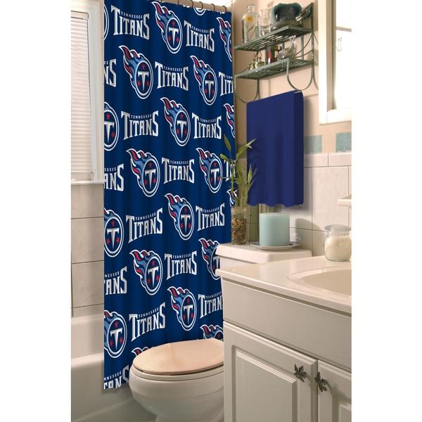NFL Titans Shower Curtain