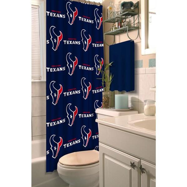 NFL Texans Shower Curtain