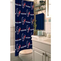 NFL Texans Shower Curtain