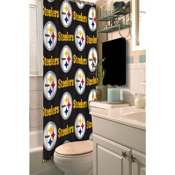 NFL Steelers Shower Curtain