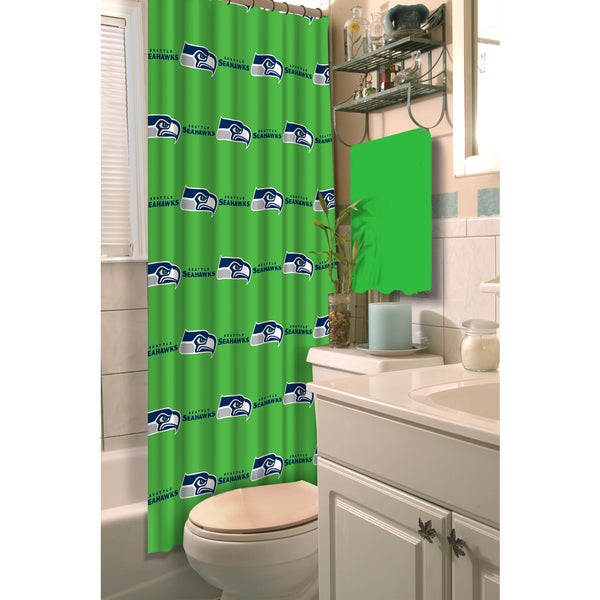 Shop Nfl Seahawks Shower Curtain Free Shipping On Orders