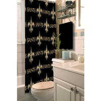 NFL Saints Shower Curtain