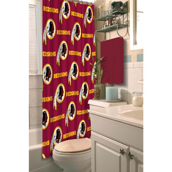 NFL Redskins Shower Curtain