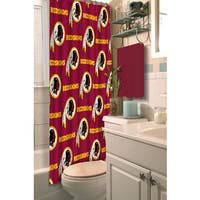 NFL Redskins Shower Curtain