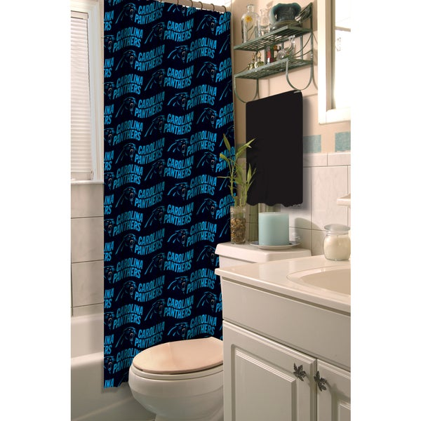 NFL Panthers Shower Curtain