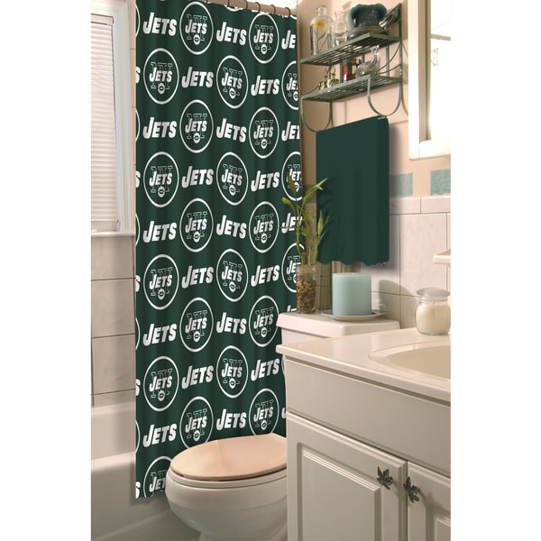 NFL Jets Shower Curtain
