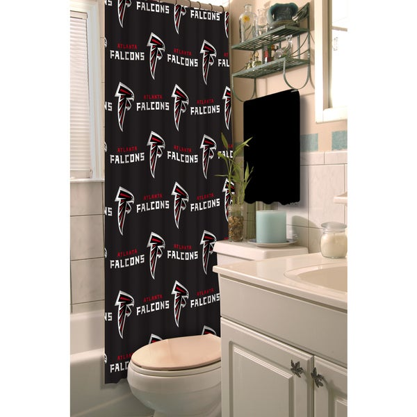 NFL Falcons Shower Curtain