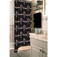 NFL Falcons Shower Curtain