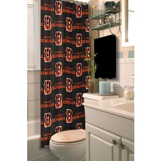 NFL Bengals Shower Curtain