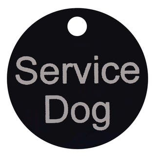 Petflect Service Dog Smart ID Tag|https://ak1.ostkcdn.com/images/products/9990960/P17141338.jpg?impolicy=medium