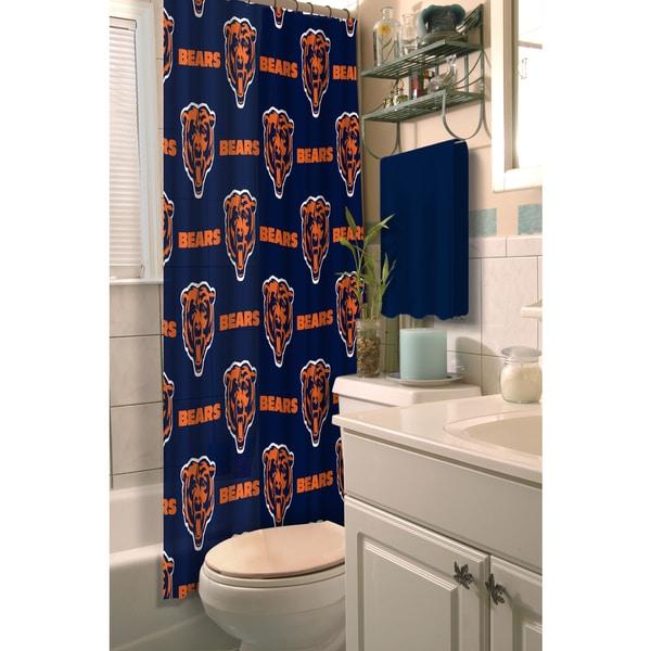 NFL Bears Shower Curtain