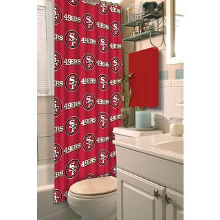 NFL 49ers Shower Curtain