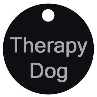 Petflect Therapy Dog Smart ID Tag|https://ak1.ostkcdn.com/images/products/9990973/P17141339.jpg?impolicy=medium