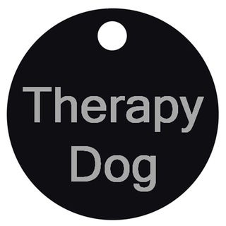 Petflect Therapy Dog Smart ID Tag