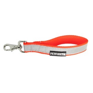 Petflect Fluorescent Orange Reflective Traffic Leash