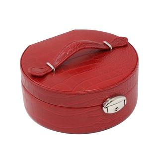 Bey Berk 'Julia' Circular Jewelry Box