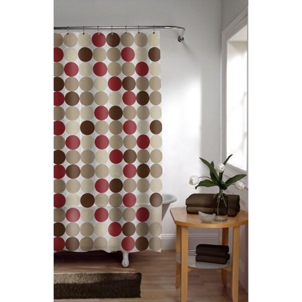 Maytex Dora Vinyl Shower Curtain - Free Shipping On Orders ...