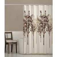 Maytex Delaney Fabric Shower Curtain