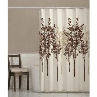 Maytex Delaney Fabric Shower Curtain