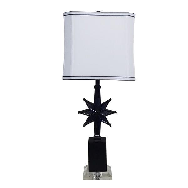 Star Mirror Table Lamp