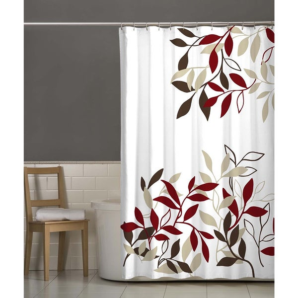 Maytex Satori Fabric Shower Curtain