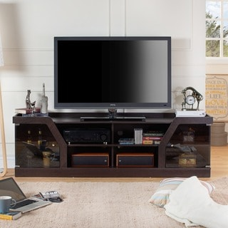 The Gray Barn Elsinora Contemporary Espresso TV Stand