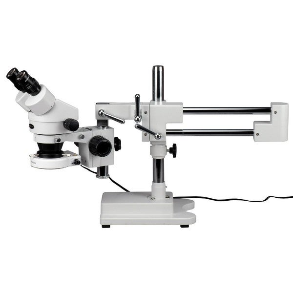 7x-45x Zoom Magnification Circuit Inspection Stereo Microscope with 80 LED Light