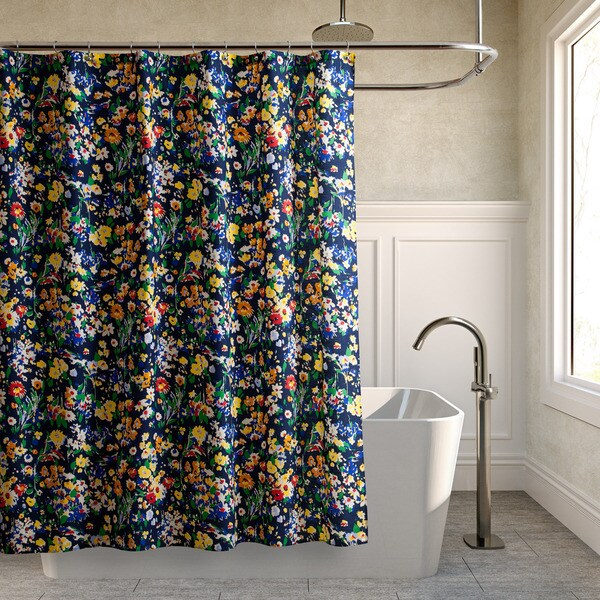 Shop Teen Vogue Folksy Floral Shower Curtain