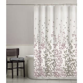 yellow and purple shower curtain. Maytex Sylvia Fabric Shower Curtain Curtains For Less  Overstock com Vibrant Bath