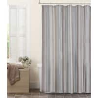 Maytex Jodie Fabric Chenille Shower Curtain