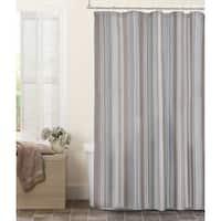 Maytex Jodie Fabric Chenille Shower Curtain