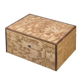 Visol Liberty Birdseye Maple Exotic Wood Humidor (Holds 125 Cigars)