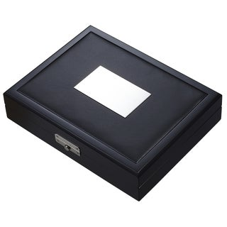 Visol Drako Black Travel Cigar Humidor (Holds 19 Cigars)