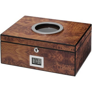 Visol PortHole Burlwood Finish Cigar Humidor (Holds 75 Cigars)|https://ak1.ostkcdn.com/images/products/9991374/P17141615.jpg?_ostk_perf_=percv&impolicy=medium