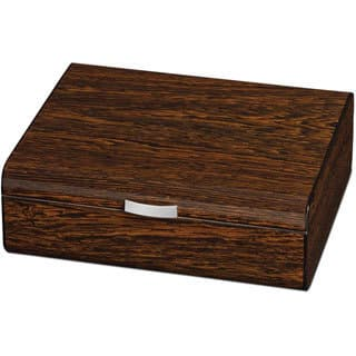 Visol Study Ironwood Finish Small Humidor for Occasional Cigar Smoker (Holds 25 Cigars)|https://ak1.ostkcdn.com/images/products/9991391/P17141631.jpg?impolicy=medium
