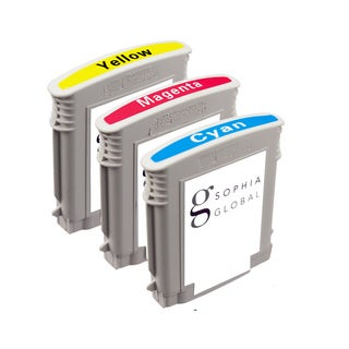 Sophia Global Remanufactured Ink Cartridge Replacement for HP 88XL (1 Cyan, 1 Magenta, 1 Yellow)