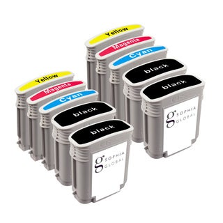 Sophia Global Remanufactured Ink Cartridge Replacement for HP 88XL (4 Black, 2 Cyan, 2 Magenta, 2 Yellow)
