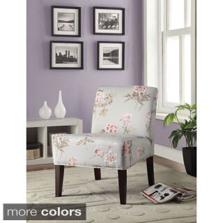 Riston Accent Chair, Floral Fabric