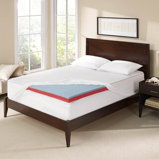 Serta Seasonal 3-inch Reversible Memory Foam Mattress Topper