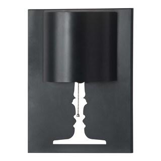Dream 1-light Black Metal Wall Lamp