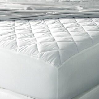 Eddie Bauer 400 Thread Count Premium Cotton Hypoallergenic Antimicrobial Mattress Pad