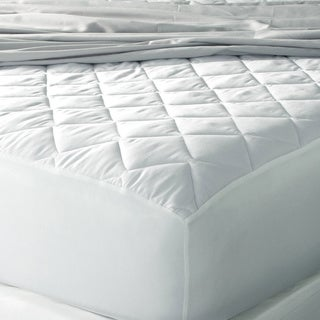 Eddie Bauer 400 Thread Count Premium Cotton Hypoallergenic Antimicrobial Mattress Pad