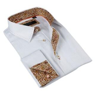 Coogi Luxe Men's Button Down Dress Shirt