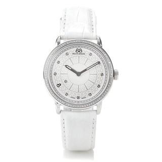 88 Rue du Rhone Women's 87WA120018 'Double 8 Origin' Swiss Quartz White Leather Watch