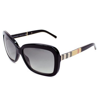 Burberry Womens BE4173 Black Plastic Sunglasses