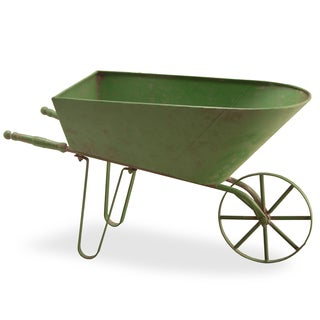 Green 27-inch Wheel Barrow