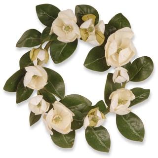 Magnolia Cream 24-inch Wreath