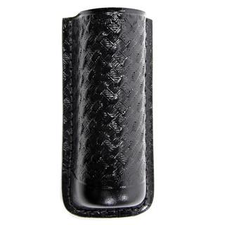 TerraLUX Basket Weave Black Leather Holster