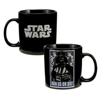 Star Wars Darth Vader 'Join Us Or Die' Black Coffee Mug